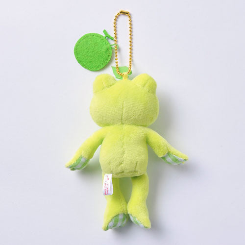 Pickles the Frog Plush Keychain Melon Fruit Parlor Japan