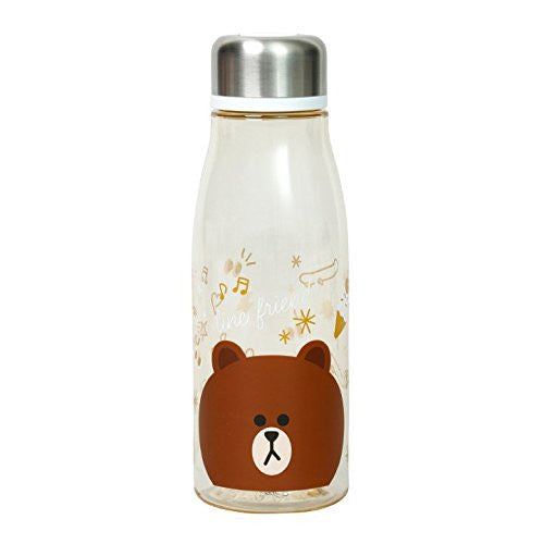 Brown Bear Stylish Blow Bottle LINE FRIENDS Japan
