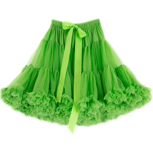 Bright Green Petticoat