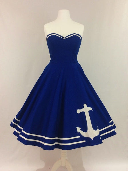 Applique Anchor Dress