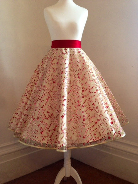 Candy Cane Skirt