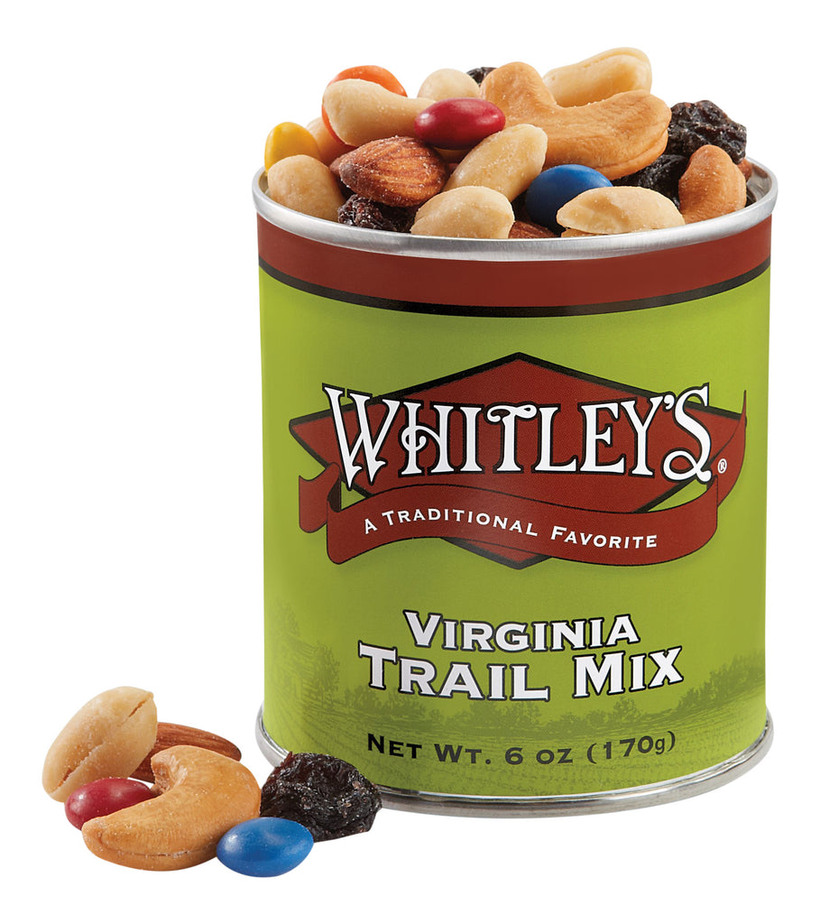 Whitley's Virginia Trail Mix 6 Ounce Tin