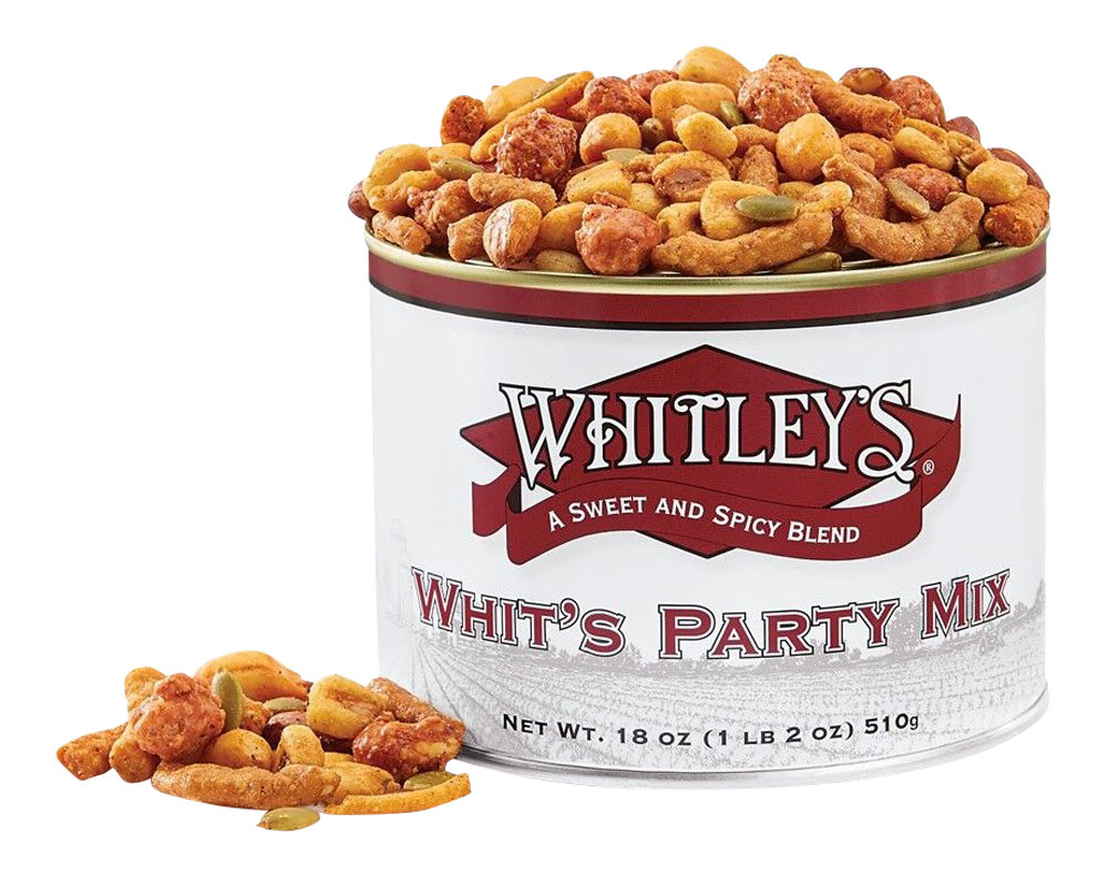 Whit's Party Mix 18 Ounce Tin
