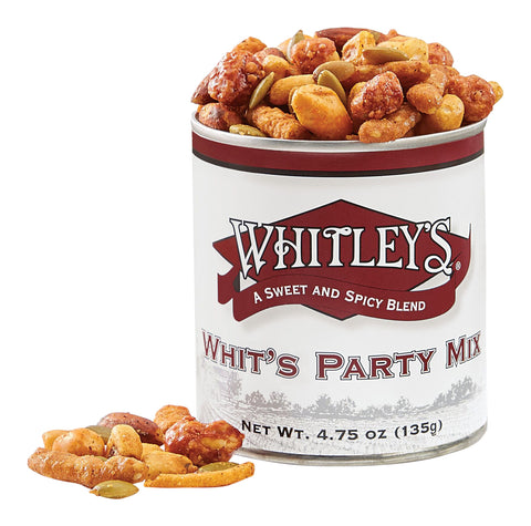 Whit's Party Mix 4.75 Ounce Tin