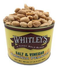 Whitley's Salt & Vinegar Virginia Peanuts 20 Oz.