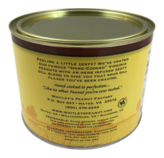 Whitley's Country Dill Pickle Virginia Peanuts 20 Oz Tin