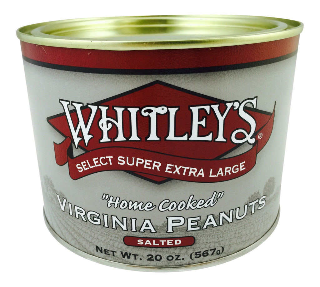 Whitley's Salted Virginia Peanuts 20 Oz.