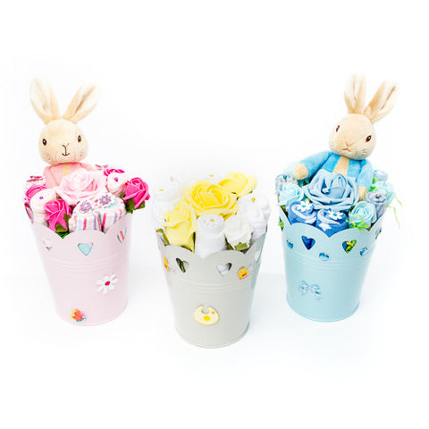 Baby Bouquet - Gift Set - Pink - Beatrix Potter Toy