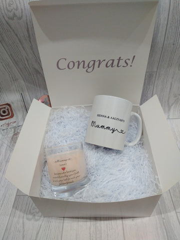New Mum Mug and Candle Gift Set