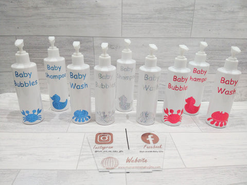 Baby Toiletries Bottles