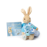 Peter Rabbit bouquet and book set