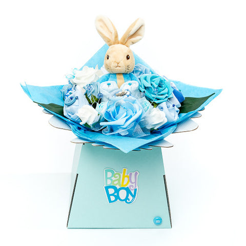 Baby Bouquet - Blue - Peter Rabbit Toy