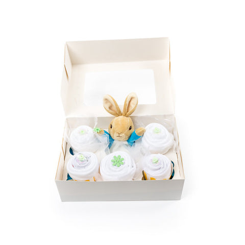 Peter Rabbit clothing cupcakes