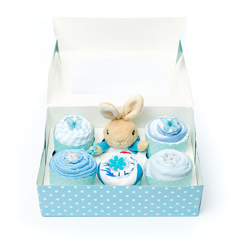 Clothing Cupcakes - Blue - Peter Rabbit- 6 pack