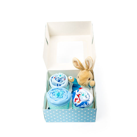 Clothing Cupcakes - Blue - Peter Rabbit - 4 pack