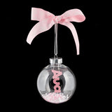 Personalised Baby's Christmas Bauble - First Christmas Gift