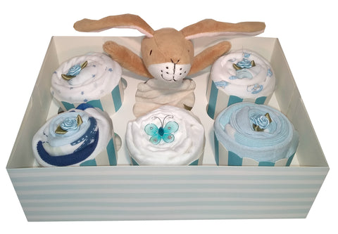 Clothing Cupcakes - Blue - Guess How Much I Love You - 6 pack