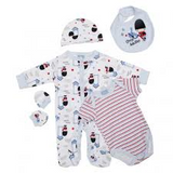 baby boy layette set