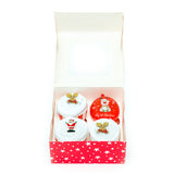 Clothing Cupcakes - White - Baby's First Christmas