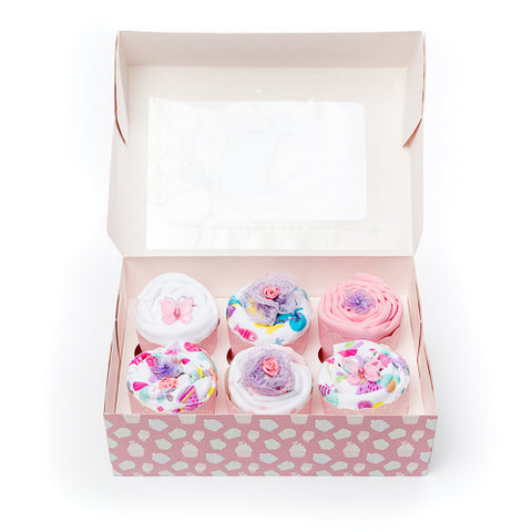 Clothing Cupcakes - Pink - Comforter - 6 pack