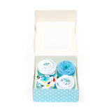 baby clothing cupcakes blue