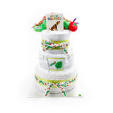 Nappy Cake-Three Tier-The Very Hungry Caterpillar