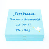 Personalised keepsake memory box