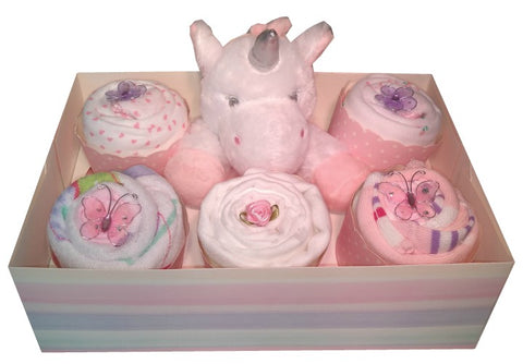 Clothing Cupcakes -Unicorn- Pink - 6 pack