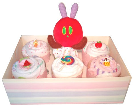 Clothing Cupcakes- Pink-The Very Hungry Caterpillar-6 pack