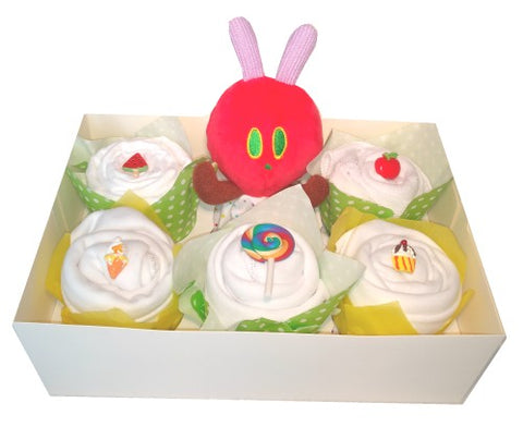 Clothing Cupcakes- Yellow-The Very Hungry Caterpillar-6 pack
