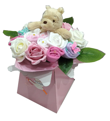 Baby Bouquet - Pink - Winnie The Pooh