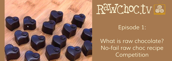 Win 1 of 3 Raw Chocolate Making Kits