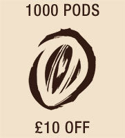 1000 pods £10 Off