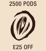 2500 pods £25 Off