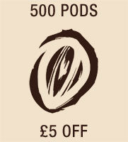 500 Pods £5 Off