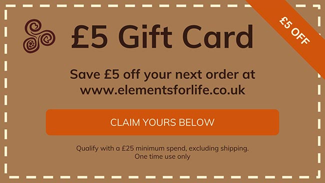 claim your £5 gift card
