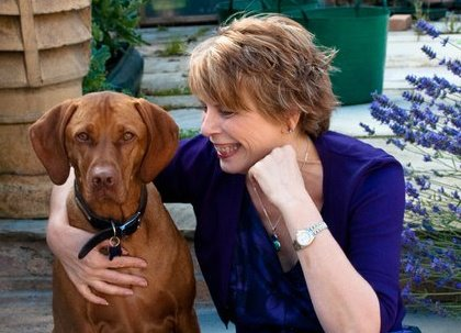 jacqui malpass and ferdy dog
