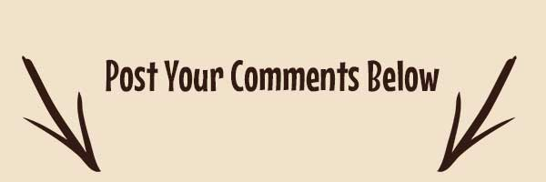 post your comments below