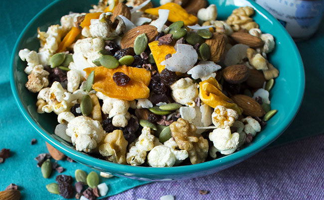 power-packed trail mix