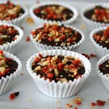 Raw Chocolate Coconut Cups
