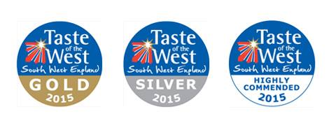 Taste of the West Award logos