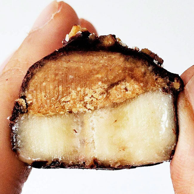 vegan banana peanut bar