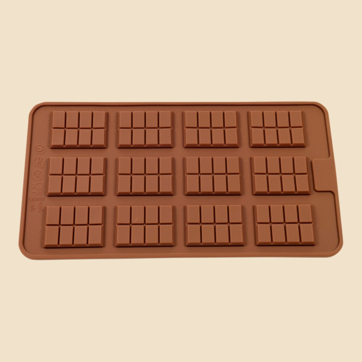 12 Mini Bar Chocolate Mould