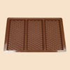 3 bar bubble wrap silicone chocolate mould