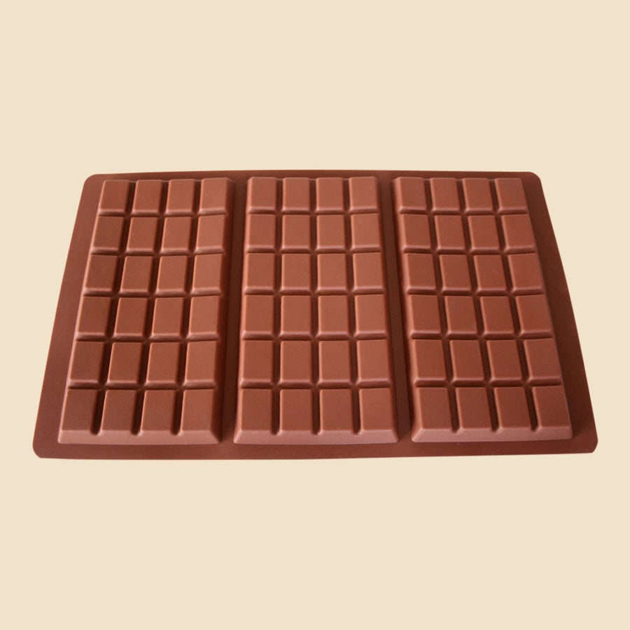 3 Bar Chocolate Mould