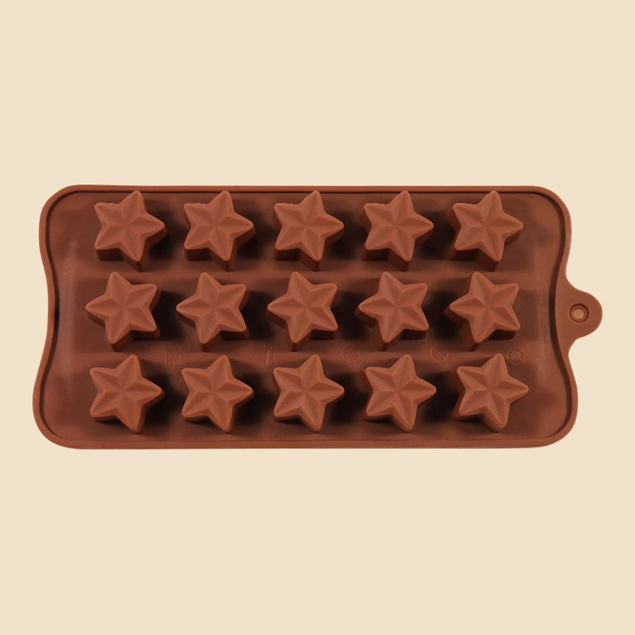 3D Stars Chocolate Mould