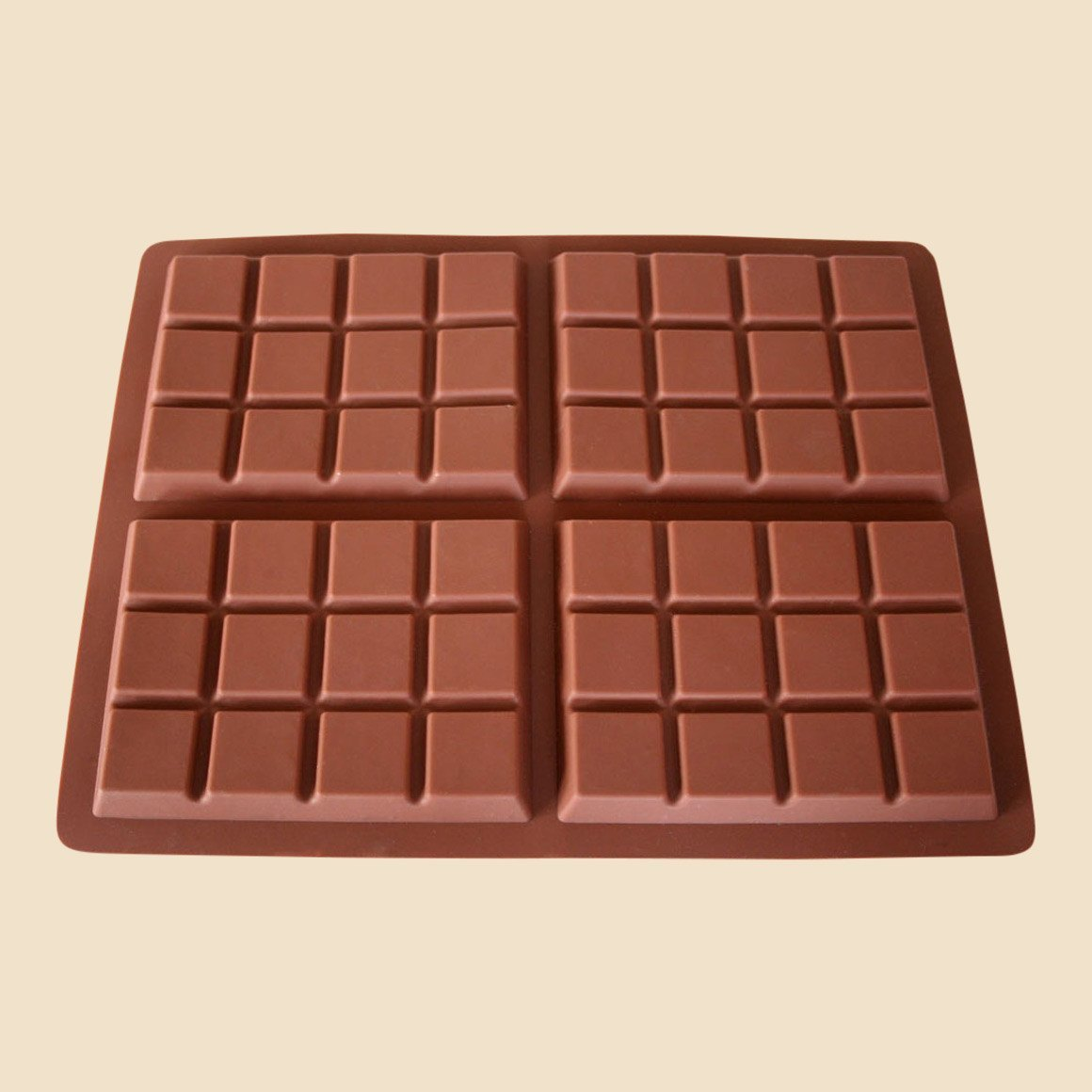 4 Bar Chocolate Mould
