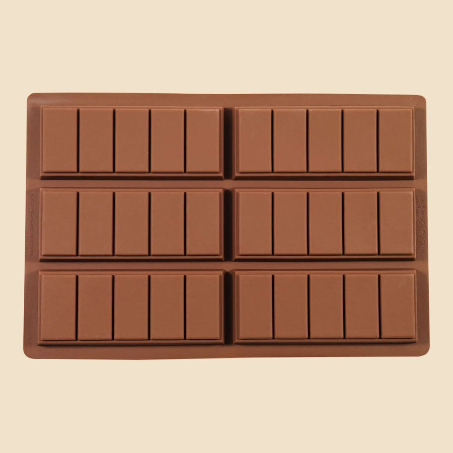 5 Chunk Chocolate Bar Mould