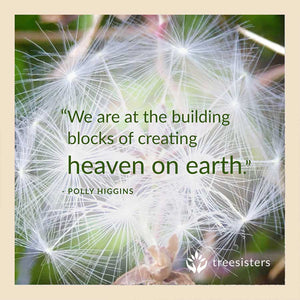 we are the building blocks of creating heaven on earth