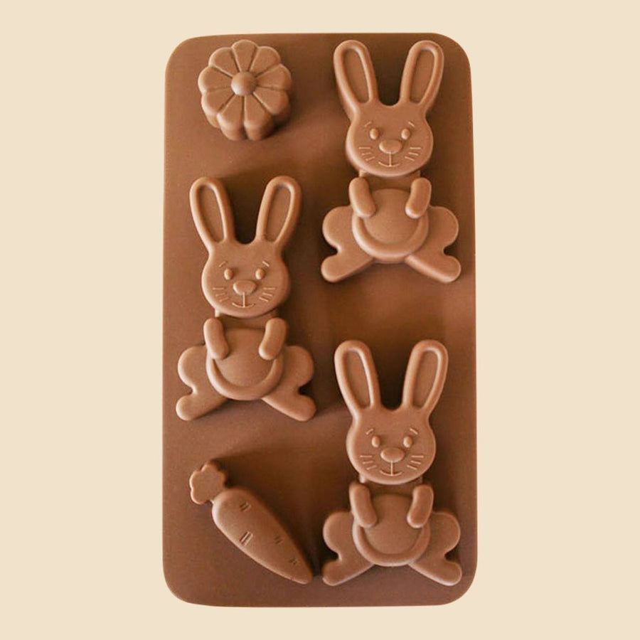 Easter Bunnies Chocolate Mould
